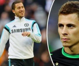 Eden Hazard dan Thorgan Hazard