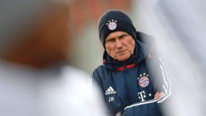 Jupp Hayenckes flu at Bayern Munich