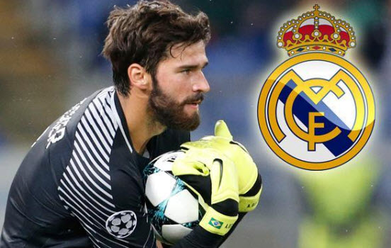 Alisson Becker AS Roma akan ditebus Real Madrid
