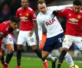 Manchester United vs Tottenham Hotspur 21 April 2018 FA Cup skor 2-1